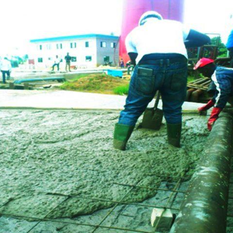 Ebughu Tank Farm Concrete Pavement, Mbo, L.G.A, Akwa Ibom State